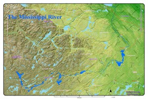 Mississippi River System Map