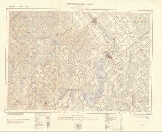 Ontario Topographic Map.Old Topo Map Prints